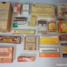Antigüedades: LOTE DE 20 MEDICAMENTOS ANTIGUOS. M1. Lote 210401953