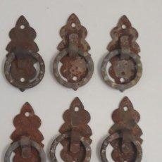 Antigüedades: ANTIGUOS TIRADORES. Lote 210465786