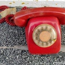 Teléfonos: TELÉFONO AÑOS 70 COLOR ROJO. Lote 210485727