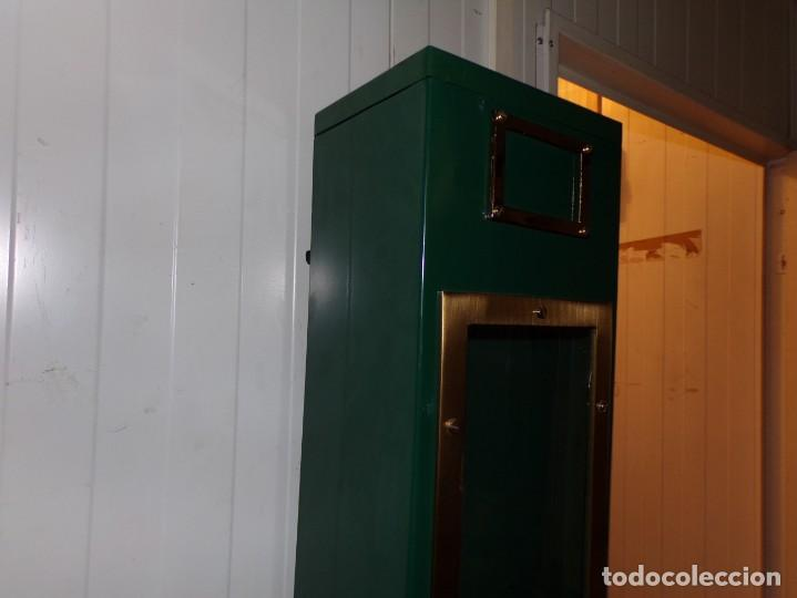Antigüedades: maquina expendedora de cafe funcional decorativa vintage - Foto 10 - 210558650