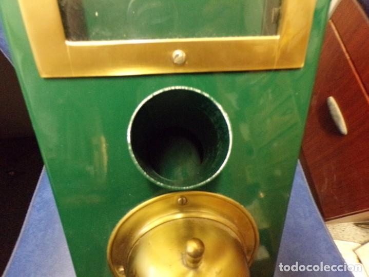Antigüedades: maquina expendedora de cafe funcional decorativa vintage - Foto 15 - 210558650