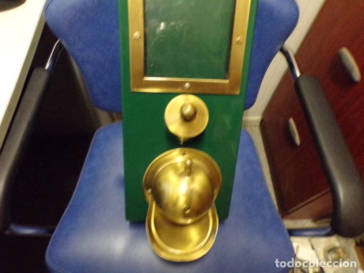 Antigüedades: maquina expendedora de cafe funcional decorativa vintage - Foto 16 - 210558650