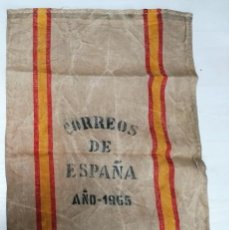 Antigüedades: ANTIGUA SACA/SACO DE CORREOS DE ESPAÑA. AÑO 1965. Lote 210559062