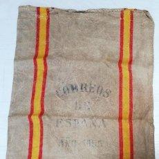 Antigüedades: ANTIGUA SACA/SACO DE CORREOS DE ESPAÑA. AÑO 1965. Lote 210559555