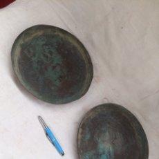 Antigüedades: PAREJA DE PLATOS ANTIGUOS DE BASCULA!. Lote 210618675