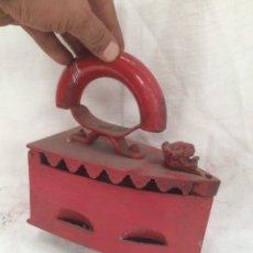 Antigüedades: ANTIGUA Y GRAN PLANCHA,CABESA LEON!. Lote 210625085