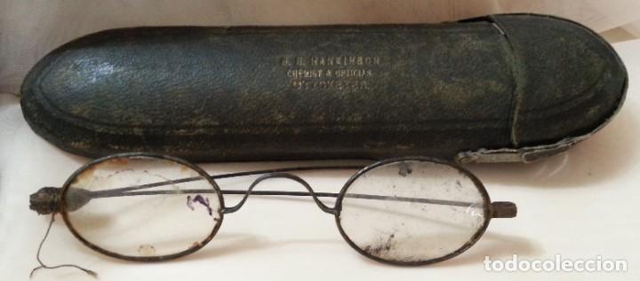 Antigüedades: Gafas centenarias. Conjunto de lentes de época. Hundreds of glasses. - Foto 3 - 210639393