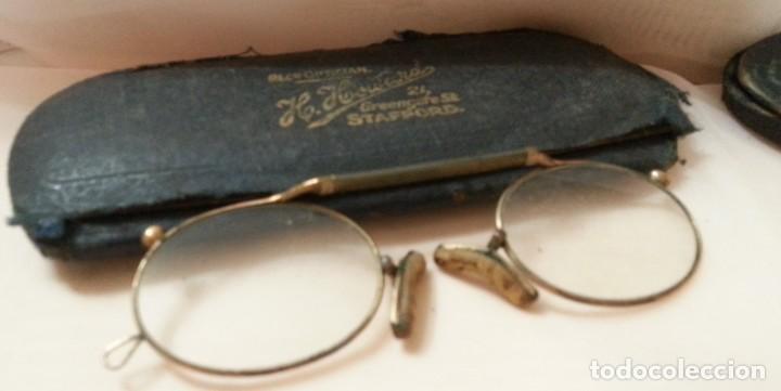 Antigüedades: Gafas centenarias. Conjunto de lentes de época. Hundreds of glasses. - Foto 5 - 210639393