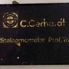 Antigüedades: ESTALAGMOMETRO COMPLETO EN SU CAJA ORIGINAL. Lote 210677176