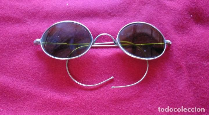 GAFAS DE SOL DE LOS AÑOS 20. (Antigüedades - Técnicas - Instrumentos Ópticos - Gafas Antiguas)