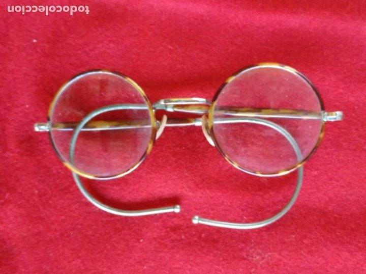 ANTIGUAS GAFAS DE LOS AÑOS 30. (Antigüedades - Técnicas - Instrumentos Ópticos - Gafas Antiguas)