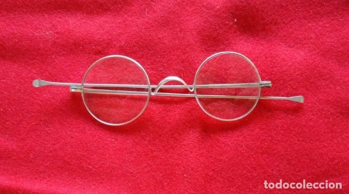 ANTIGUAS GAFAS DE PRINCIPIOS DEL SIGLO XX. (Antigüedades - Técnicas - Instrumentos Ópticos - Gafas Antiguas)