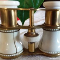 Antigüedades: BINOCULARES TEATRO MARFIL. Lote 210698849