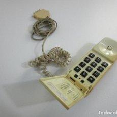Teléfonos: TELÉFONO ANTIGUO BENJAMÍN - TELYCO - COLOR MARFIL - TELEFÓNICA - VINTAGE - AÑOS 80. Lote 210727102
