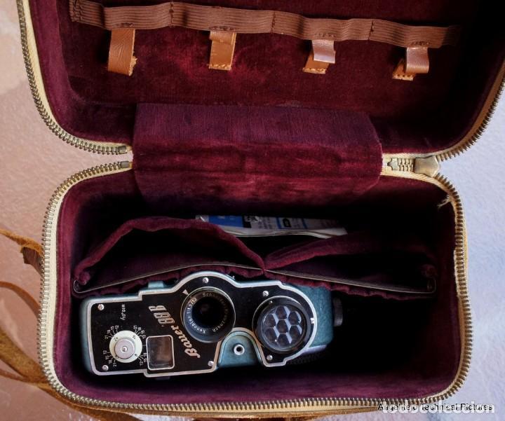 Antigüedades: Precioso 8 mm.Bauer.Martelé verde.Germany.Mod.88 - Foto 3 - 210738972