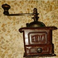Antigüedades: ANTIGUO MOLINILLO DE CAFÉ MARCA ELMA DE CHAPA, EN PERFECTO ESTADO, FUNCIONANDO PERFECTAMENTE. Lote 210754854