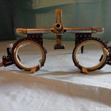 Antigüedades: GAFAS OFTALMOLOGÍA ANTIGUAS. GAFAS DE OPTOMETRIA MARCA OCULUS PARA INTERCAMBIAR LENTES.. Lote 210758035