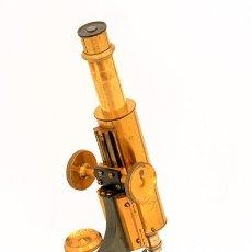Antigüedades: MICROSCOPIO ANTIGUO WATSON TIPO 'FRAM' (C.1895). Lote 210775484
