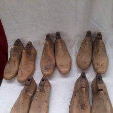 Antigüedades: GRAN LOTE DE HORMAS ANTIGUAS DE ZAPATERO!. Lote 210776151