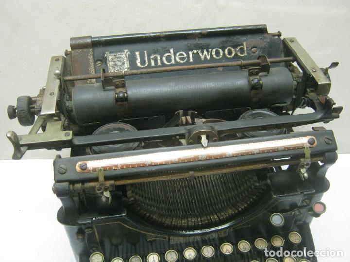 Antigüedades: Antigua maquina de escribir UNDERWOOD STANDAR c.1925 - Foto 4 - 210782951