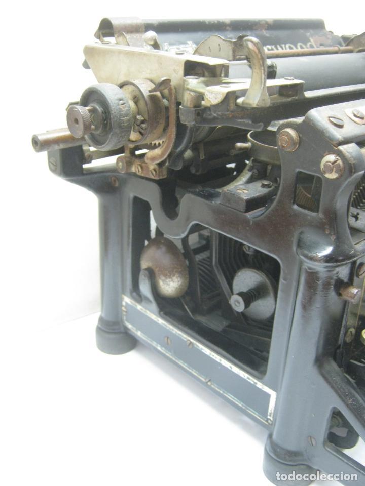Antigüedades: Antigua maquina de escribir UNDERWOOD STANDAR c.1925 - Foto 5 - 210782951