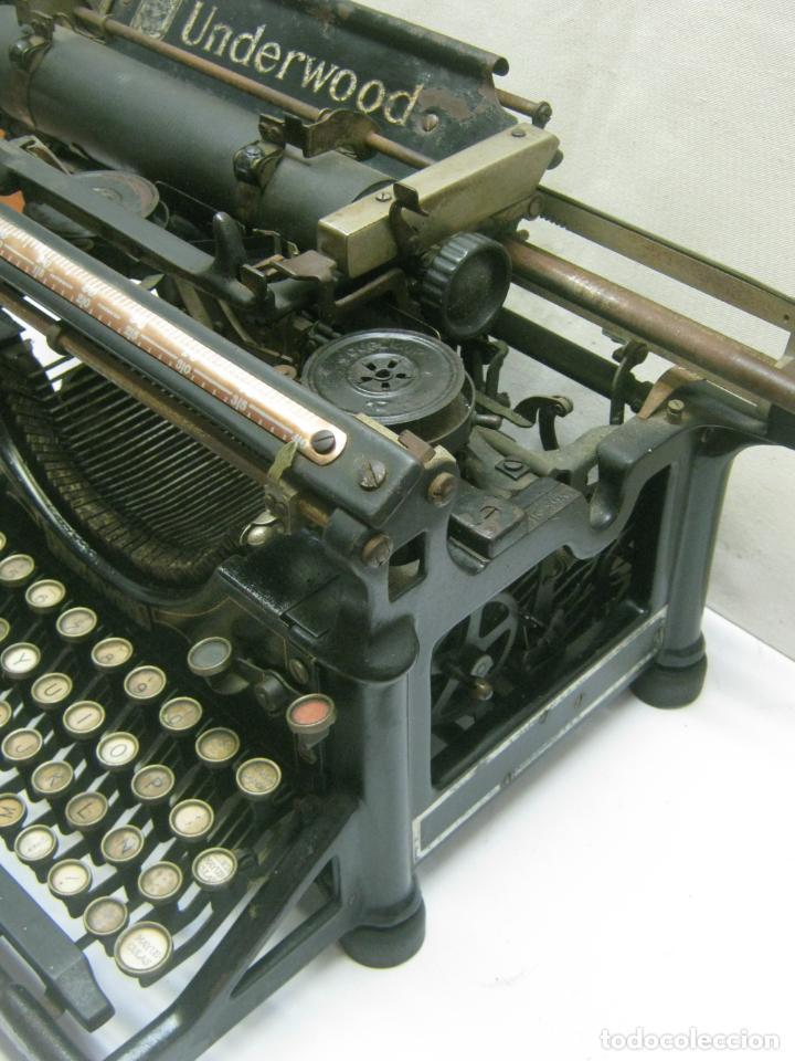 Antigüedades: Antigua maquina de escribir UNDERWOOD STANDAR c.1925 - Foto 7 - 210782951