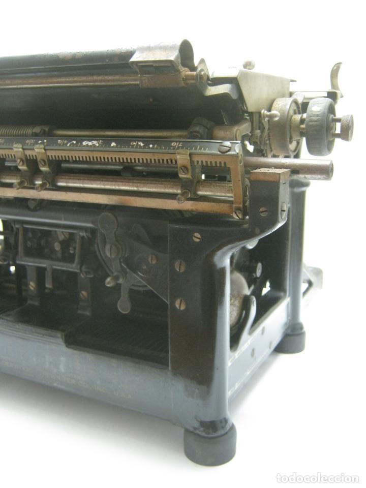 Antigüedades: Antigua maquina de escribir UNDERWOOD STANDAR c.1925 - Foto 9 - 210782951