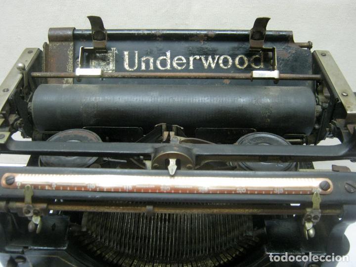 Antigüedades: Antigua maquina de escribir UNDERWOOD STANDAR c.1925 - Foto 13 - 210782951