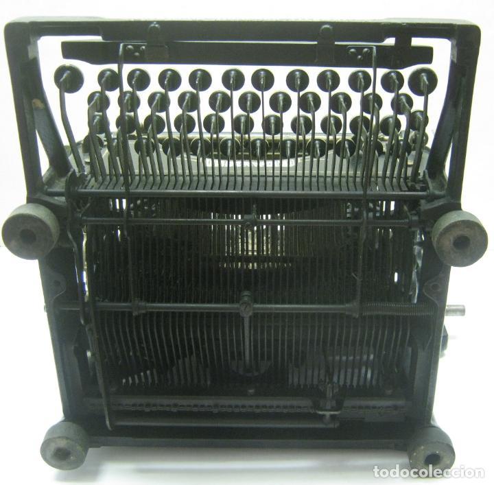 Antigüedades: Antigua maquina de escribir UNDERWOOD STANDAR c.1925 - Foto 14 - 210782951