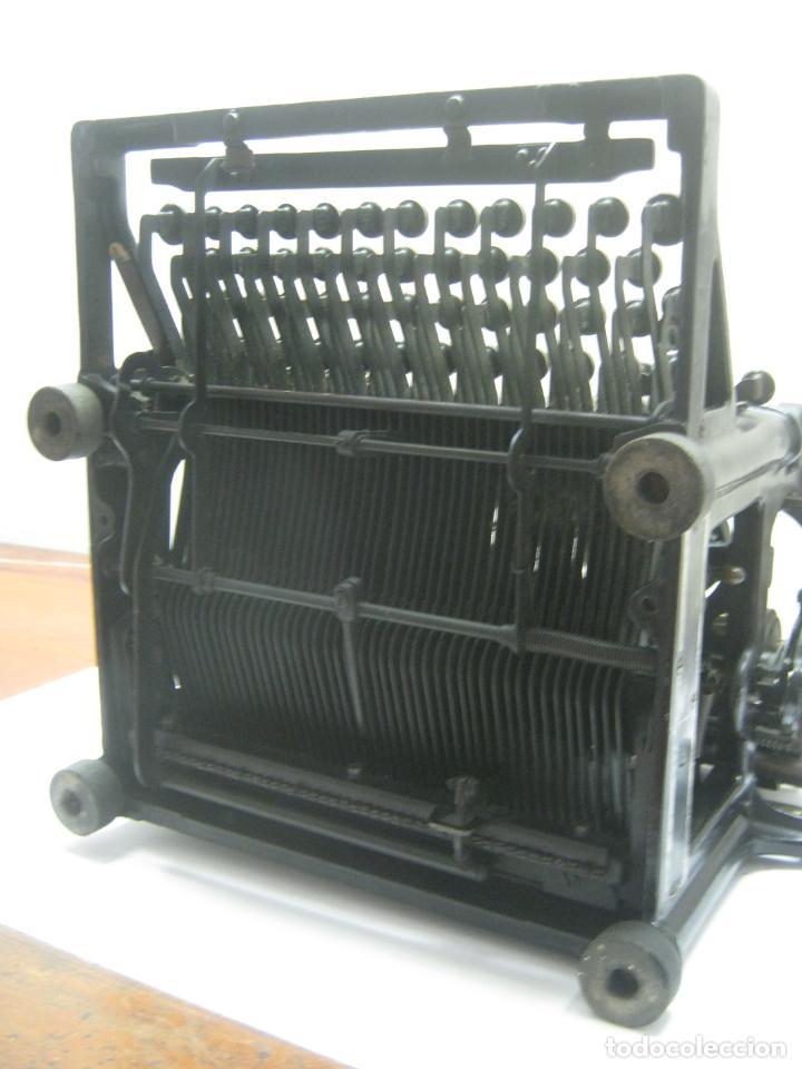 Antigüedades: Antigua maquina de escribir UNDERWOOD STANDAR c.1925 - Foto 15 - 210782951