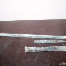 Antigüedades: 3 CORTA FRIO UN DE LA MARCA BELLOTA. Lote 210799310
