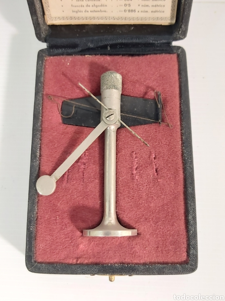 Antigüedades: ANTIGUA BALANZA MICROMÉTRICA JBA MODELO 30. - Foto 2 - 210824190