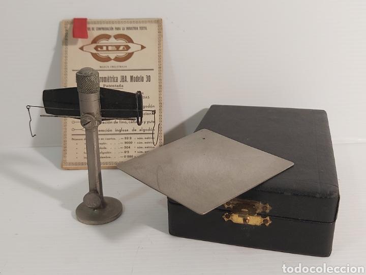 Antigüedades: ANTIGUA BALANZA MICROMÉTRICA JBA MODELO 30. - Foto 3 - 210824190