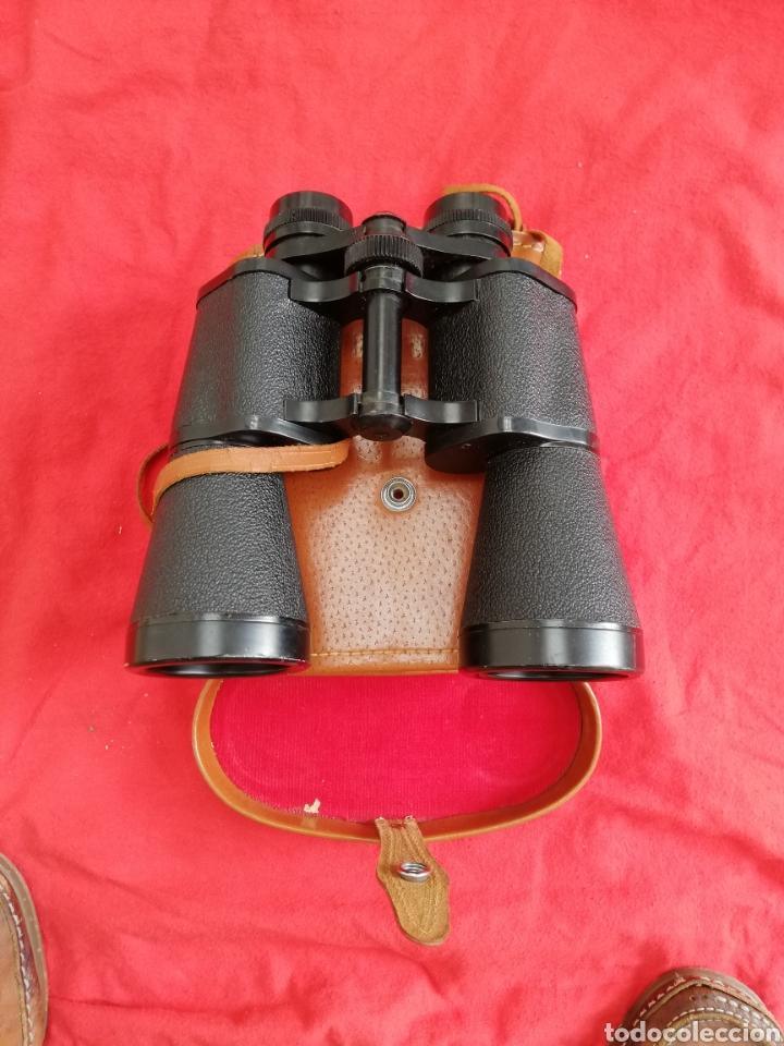 PRISMÁTICOS SUPER ZENITH - 16 X 15 FIELD 35º - EN ESTUCHE DE PIEL MARRÓN - PJRB (Antigüedades - Técnicas - Instrumentos Ópticos - Prismáticos Antiguos)