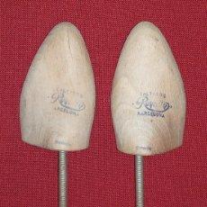 Antigüedades: ANTIGUAS HORMAS DE ZAPATOS. Lote 210960955