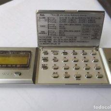 Oggetti Antichi: MICRO COMPUTER CASIO MQ-2 CON DOS ALARMAS TIMER DATE CALCULADORA UNOS DE LOS PRIMEROS. Lote 210977326