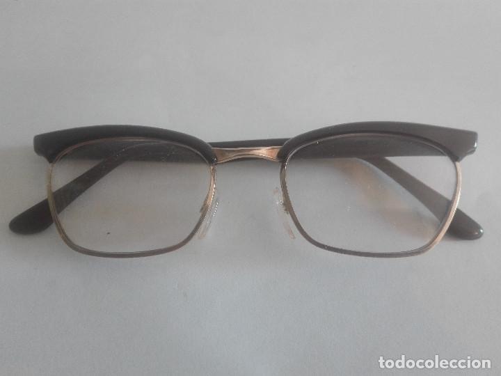 ANTIGUAS GAFAS GRADUADAS INDO MODELO GLORY ORIGINALES 1964 FAMOSAS EN LOS AÑOS 60 - UNICAS EN TC (Antigüedades - Técnicas - Instrumentos Ópticos - Gafas Antiguas)
