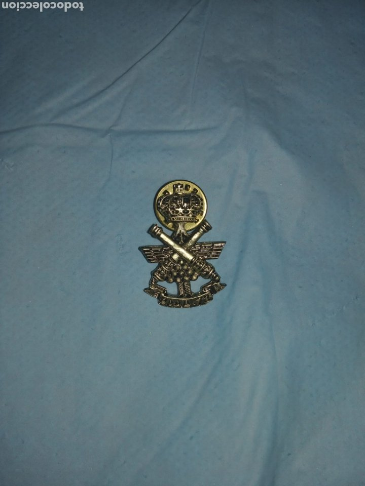 PIN ARTILLERÍA RAAAF 72. EJERCITO ESPAÑOL (Antigüedades - Antigüedades Técnicas - Marinas y Navales)