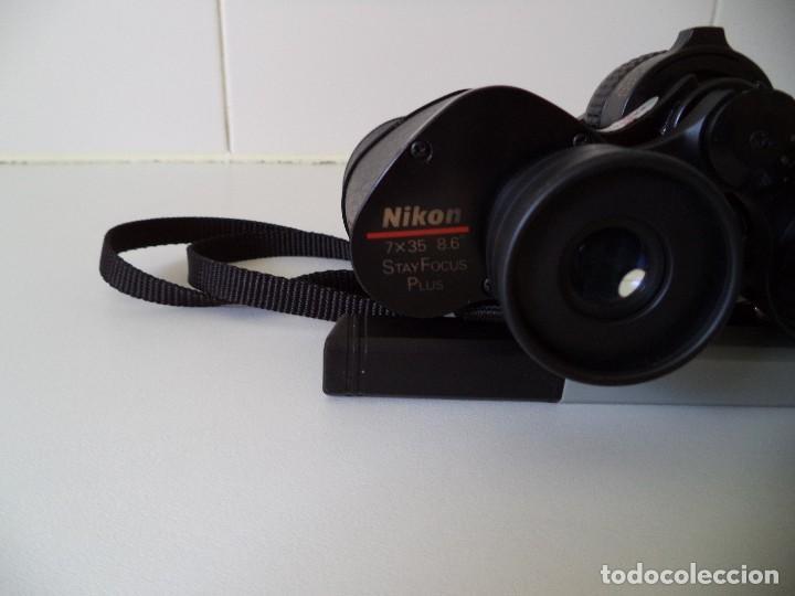 Antigüedades: Prismaticos-Binoculares Nikon 7x35mm Stay Focus Plus. - Foto 7 - 211405446