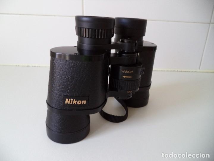 Antigüedades: Prismaticos-Binoculares Nikon 7x35mm Stay Focus Plus. - Foto 10 - 211405446