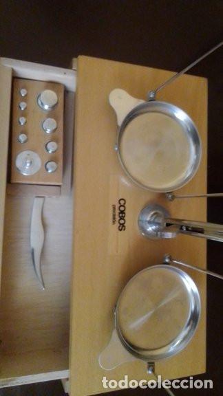 Antigüedades: bascula portatil precision cobos. - Foto 2 - 211468576