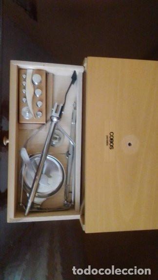 Antigüedades: bascula portatil precision cobos. - Foto 3 - 211468576
