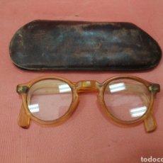 Antigüedades: GAFAS ANTIGUAS DE PASTA.. Lote 211470179