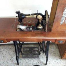 Antigüedades: MÁQUINA DE COSER WERTHEIM RÁPIDA. Lote 211576192