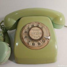 Teléfonos: ANTIGUO TELÉFONO DE BAQUELITA VERDE FABRICADO EN CITESA. Lote 211652610
