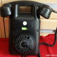 Teléfonos: ROBUSTO TELEFONO DE PARED BAKELITA Y METAL MARCA PTT CON TERMINAL DE CONEXION. Lote 211667234