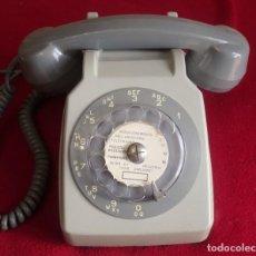 Teléfonos: ANTIGUO TELEFONO DIAL NUMERICO PTT SO CO TEL S63 GRIS FRANCIA FUNCIONA. Lote 211670029