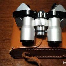 Antigüedades: EXCELENTES PRISMÁTICOS TIPO ESKELETOR . 8 X 20 . ACERO INOXIDABLE. Lote 211719459
