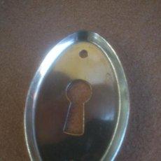 Antigüedades: BOCALLAVES EN METAL CROMADO. Lote 211758617