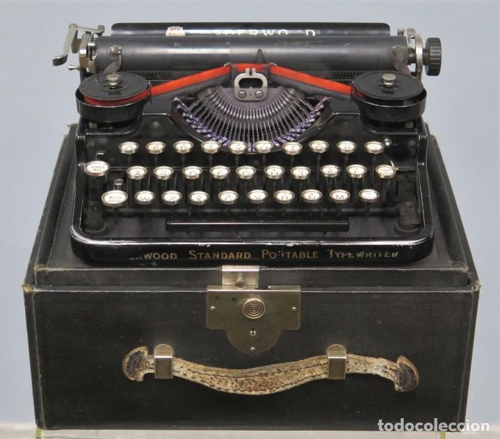 MAQUINA DE ESCRIBIR. UNDERWOOD. STANDARD PORTABLE. U.S.A (Antigüedades - Técnicas - Máquinas de Escribir Antiguas - Underwood)